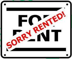 For Rent Rented